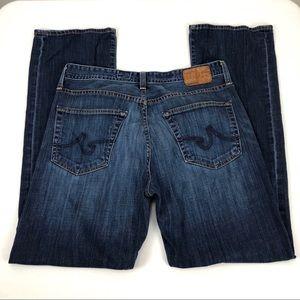 AG Men's Protege Straight Leg Blue Jeans - 34 x 32